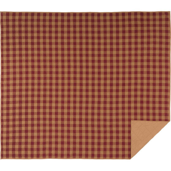 VHC-Brands-Mayflower-Market-Primitive-Bedding-Burgundy-Check-Coverlet-King-Quilted-Burgundy-Natural