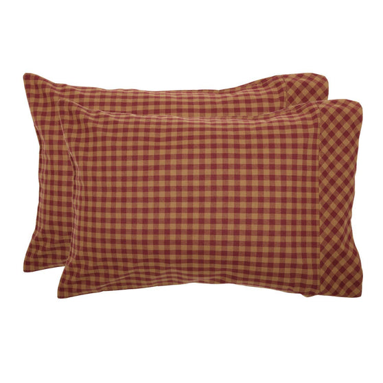 VHC-Brands-Mayflower-Market-Primitive-Bedding-Burgundy-Check-Pillow-Case-Standard-Burgundy-Dark-Tan