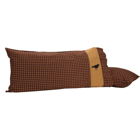 VHC-Brands-Mayflower-Market-Primitive-Bedding-Heritage-Farms-Pillow-Case-King-Burgundy-Mustard-Raven-Black