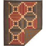 VHC-Brands-Mayflower-Market-Primitive-Pillows-Throws-Maisie-Throw-60x50-Natural-Country-Black-Burgundy