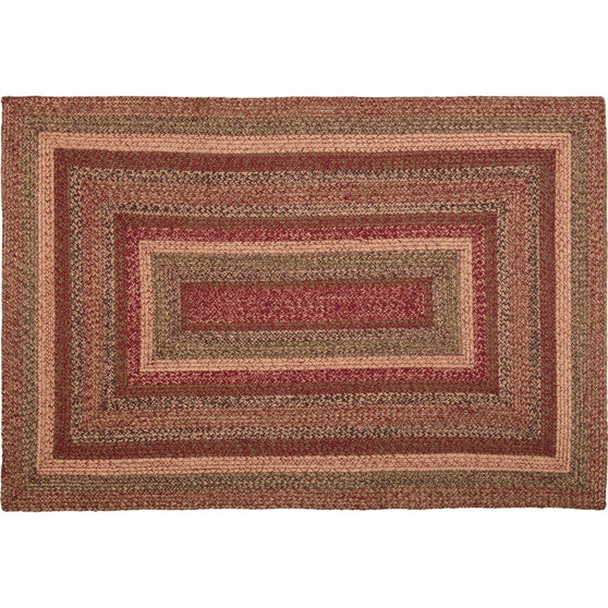 VHC-Brands-Mayflower-Market-Primitive-Rugs-Cider-Mill-Jute-Jute-Rug-48x72-Burgundy-Natural-Olive-Green