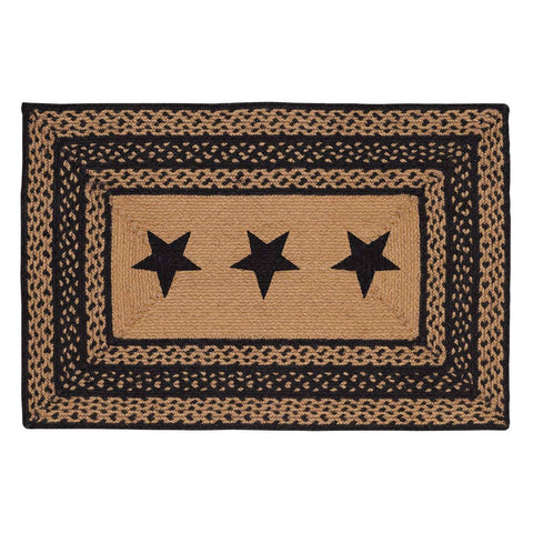 VHC-Brands-Mayflower-Market-Primitive-Rugs-Farmhouse-Jute-Jute-Rug-24x36-Country-Black-Dark-Tan