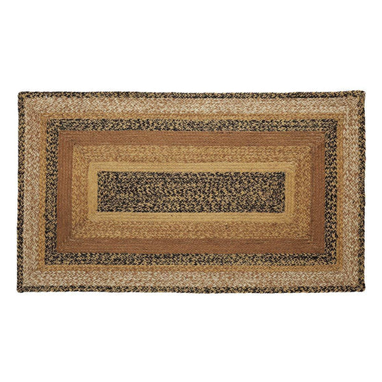 VHC-Brands-Mayflower-Market-Primitive-Rugs-Kettle-Grove-Jute-Rug-27x48-Country-Black-Caramel-Dark-Creme