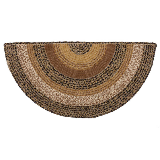 VHC-Brands-Mayflower-Market-Primitive-Rugs-Kettle-Grove-Jute-Rug-Half-Circle-16.5x33-Natural-Country-Black-Caramel