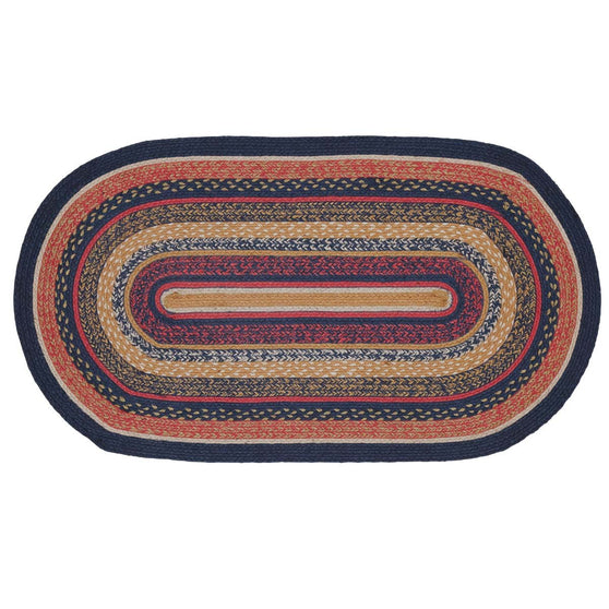 VHC-Brands-Mayflower-Market-Primitive-Rugs-Stratton-Jute-Rug-27x48-Navy-Ruby-Copper