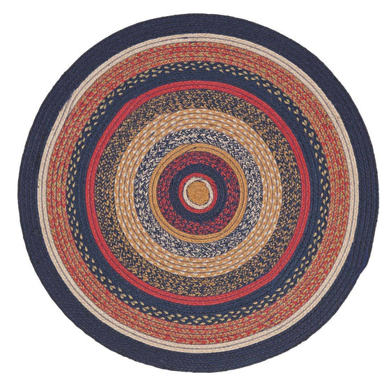 VHC-Brands-Mayflower-Market-Primitive-Rugs-Stratton-Jute-Rug-3-ft--Round-Navy-Ruby-Copper