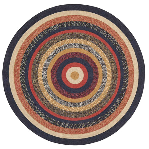 VHC-Brands-Mayflower-Market-Primitive-Rugs-Stratton-Jute-Rug-6-ft-Round-Navy-Ruby-Copper