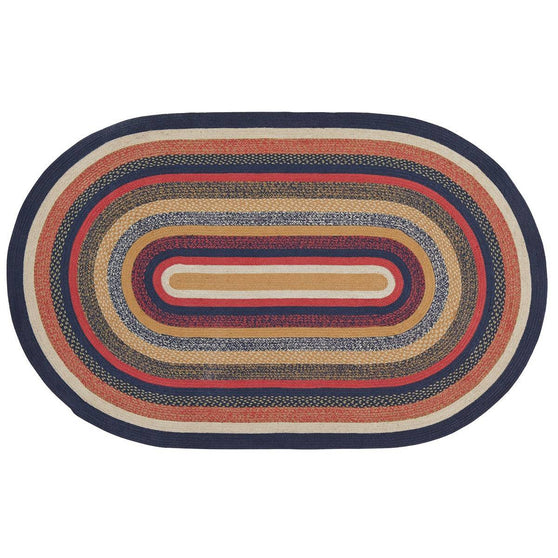 VHC-Brands-Mayflower-Market-Primitive-Rugs-Stratton-Jute-Rug-60x96-Navy-Ruby-Copper