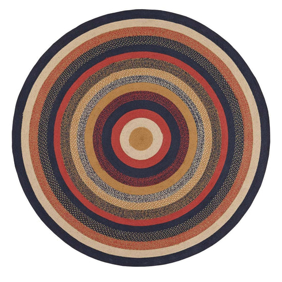 VHC-Brands-Mayflower-Market-Primitive-Rugs-Stratton-Jute-Rug-8-ft-Round-Navy-Ruby-Copper