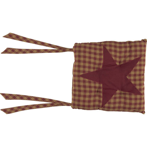 VHC-Brands-Mayflower-Market-Primitive-Tabletop-Kitchen-Burgundy-Star-Chair-Pad-Burgundy-Dark-Tan