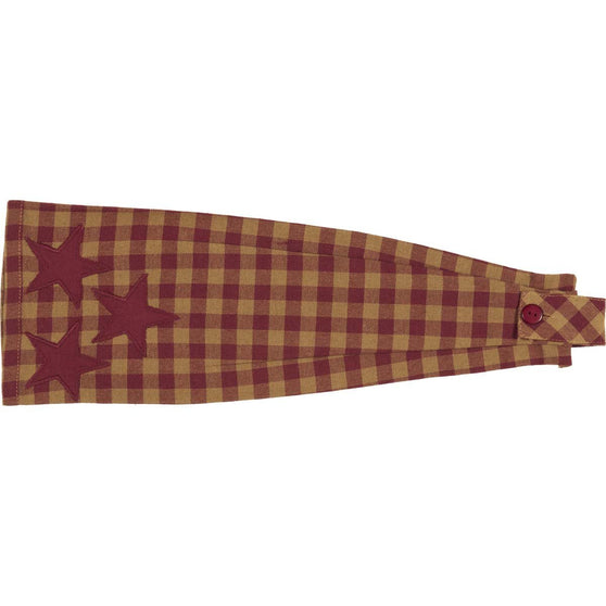 VHC-Brands-Mayflower-Market-Primitive-Tabletop-Kitchen-Burgundy-Star-Kitchen-Towel-Button-Loop-Burgundy-Dark-Tan