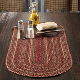 VHC-Brands-Mayflower-Market-Primitive-Tabletop-Kitchen-Cider-Mill-Jute-Jute-Runner-13x36-Burgundy-Natural-Olive-Green
