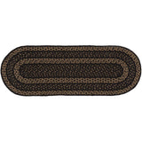 VHC-Brands-Mayflower-Market-Primitive-Tabletop-Kitchen-Farmhouse-Jute-Jute-Runner-13x36-Country-Black-Dark-Tan