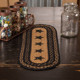 VHC-Brands-Mayflower-Market-Primitive-Tabletop-Kitchen-Farmhouse-Jute-Jute-Runner-8x24-Country-Black-Dark-Tan