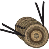 VHC-Brands-Mayflower-Market-Primitive-Tabletop-Kitchen-Kettle-Grove-Jute-Chair-Pad-Set-6-Country-Black-Caramel-Dark-Creme