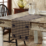 VHC-Brands-Mayflower-Market-Primitive-Tabletop-Kitchen-Navy-Star-Runner-13x36-Navy-Natural