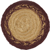 VHC-Brands-Mayflower-Market-Primitive-Tabletop-Kitchen-Potomac-Jute-Coaster-Set-6-Natural-Burgundy-Navy