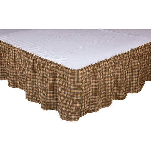 VHC-Brands-Oak-Asher-Rustic-Bedding-Cedar-Ridge-Bed-Skirt-King-Cedar-Green-Natural-Dark-Brown