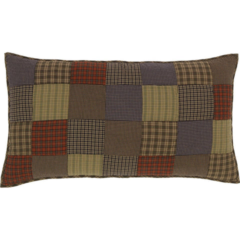 VHC-Brands-Oak-Asher-Rustic-Bedding-Cedar-Ridge-Sham-King-Quilted-Cedar-Green-Brick-Red-Navy