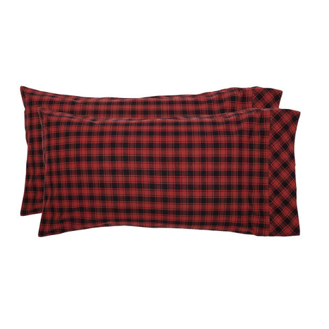 VHC-Brands-Oak-Asher-Rustic-Bedding-Cumberland-Pillow-Case-King-Chili-Pepper-Caviar