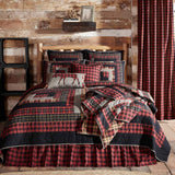 VHC-Brands-Oak-Asher-Rustic-Bedding-Cumberland-Quilt-California-King-Chili-Pepper-Caviar-Natural