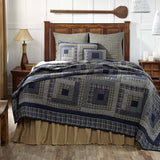 VHC-Brands-Oak-Asher-Rustic-Lodge-Bedding-Columbus-Quilt-Queen-Navy-Vanilla-Evergreen