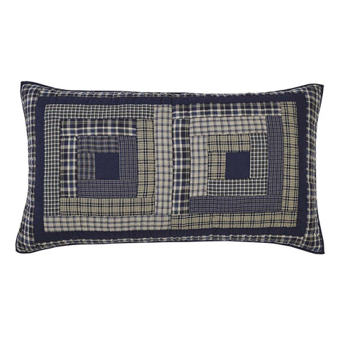 VHC-Brands-Oak-Asher-Rustic-Lodge-Bedding-Columbus-Sham-King-Quilted-Navy-Vanilla-Evergreen