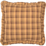 VHC-Brands-Oak-Asher-Rustic-Lodge-Bedding-Prescott-Euro-Sham-Fabric-Ruffled-Light-Tan-Dark-Brown
