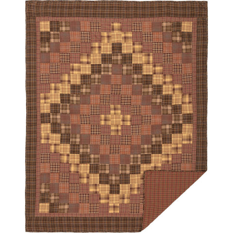 VHC-Brands-Oak-Asher-Rustic-Lodge-Bedding-Prescott-Quilt-Twin-Russet-Light-Tan-Earth-Green