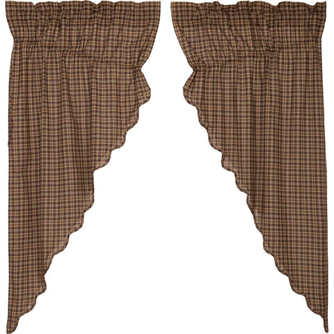 VHC-Brands-Oak-Asher-Rustic-Lodge-Window-Prescott-Prairie-Short-Panel-Set-Dark-Brown-Light-Tan-Creme