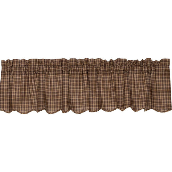 VHC-Brands-Oak-Asher-Rustic-Lodge-Window-Prescott-Valance-16x72-Dark-Brown-Light-Tan-Creme