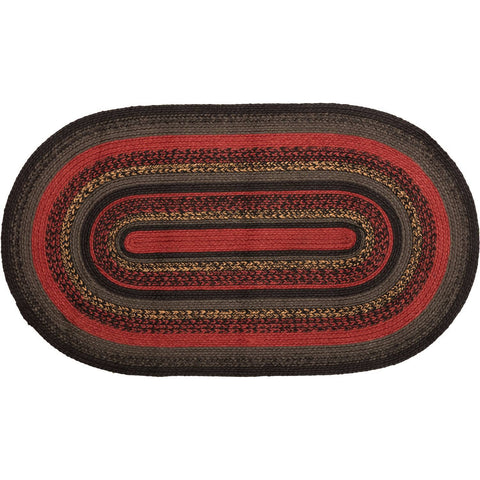 VHC-Brands-Oak-Asher-Rustic-Rugs-Cumberland-Jute-Rug-27x48-Chili-Pepper-Caviar-Natural