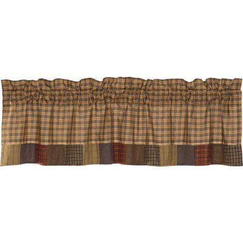 VHC-Brands-Oak-Asher-Rustic-Window-Cedar-Ridge-Valance-16x60-Cedar-Green-Brick-Red-Navy