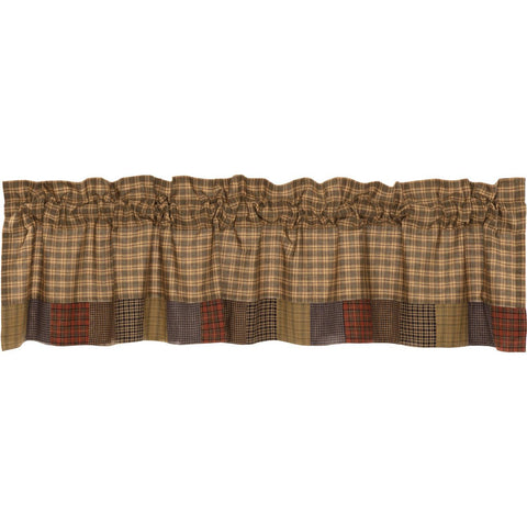 VHC-Brands-Oak-Asher-Rustic-Window-Cedar-Ridge-Valance-16x72-Cedar-Green-Brick-Red-Navy