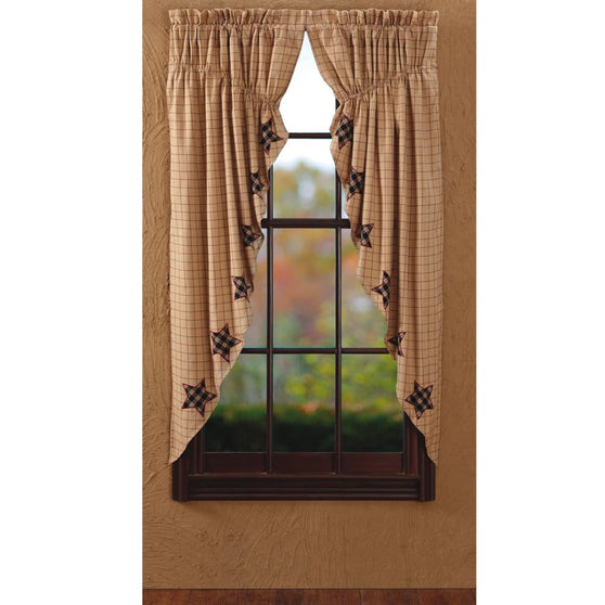 Window BinghamStar Prairie Swags & Prairie Curtains VHC-Brands