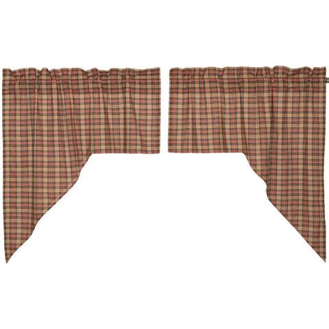 Crosswoods Swag Set of 2 36x36x16