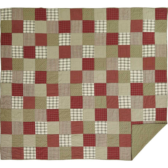 Prairie Winds Luxury King Quilt 105x120
