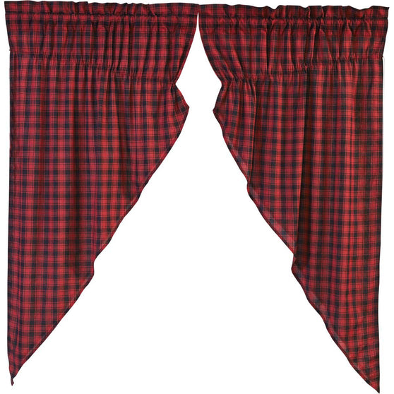 Cumberland Prairie Curtain Set of 2 63x36x18