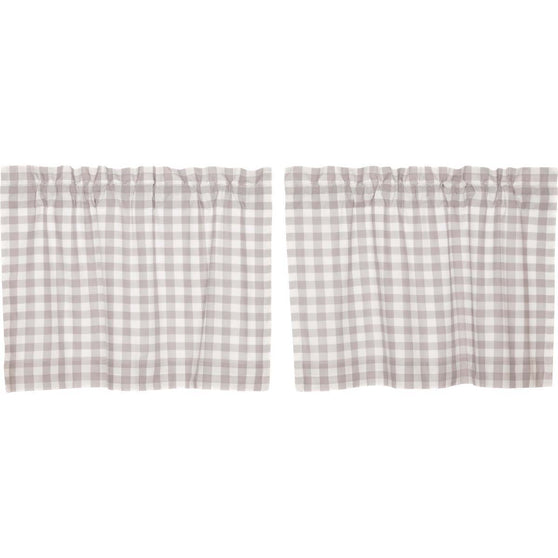 Annie Buffalo Check Grey Tier Set of 2 L24xW36