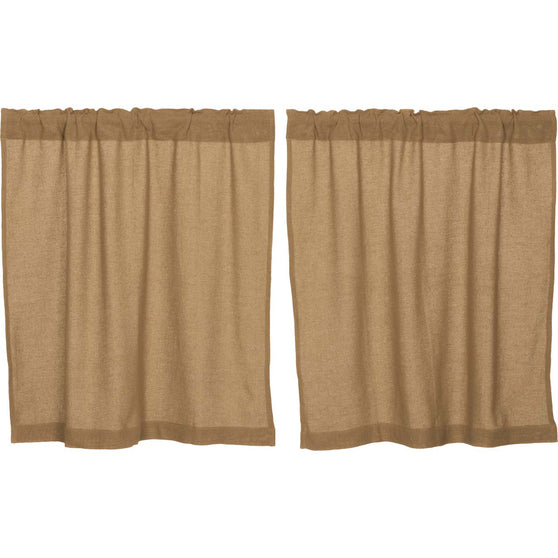 Burlap Natural Tier Set of 2 L36xW36