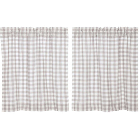 Annie Buffalo Check Grey Tier Set of 2 L36xW36