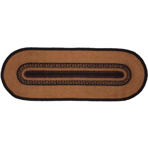 Heritage Farms Star Jute Runner Oval 13x36