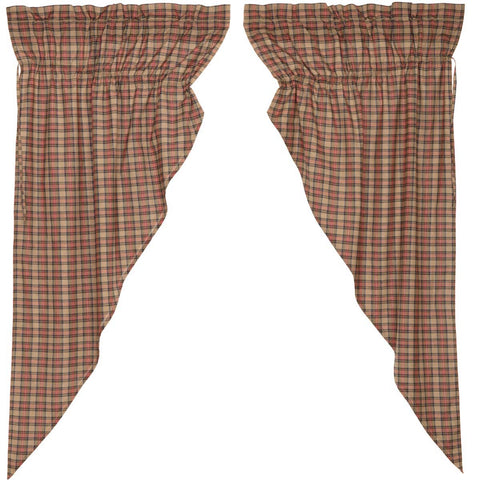 Crosswoods Prairie Curtain Set of 2 63x36x18