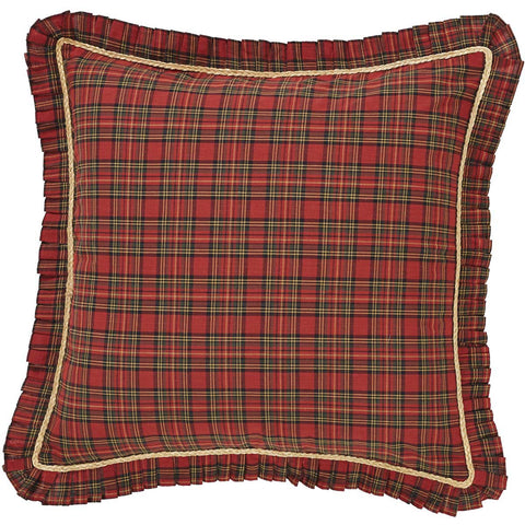 Tea Star Fabric Euro Sham 26x26