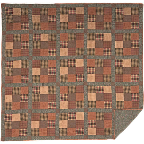 Crosswoods King Quilt 95x105