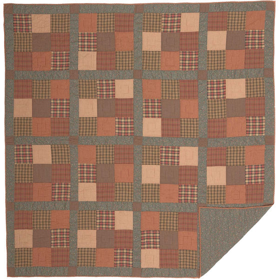 Crosswoods Queen Quilt 90x90