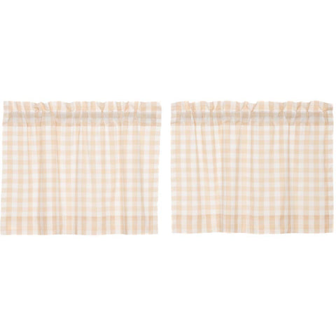Annie Buffalo Check Tan Tier Set of 2 L24xW36