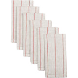 Charley Red Napkin Set of 6 18x18