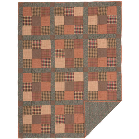 Crosswoods Twin Quilt 86x68