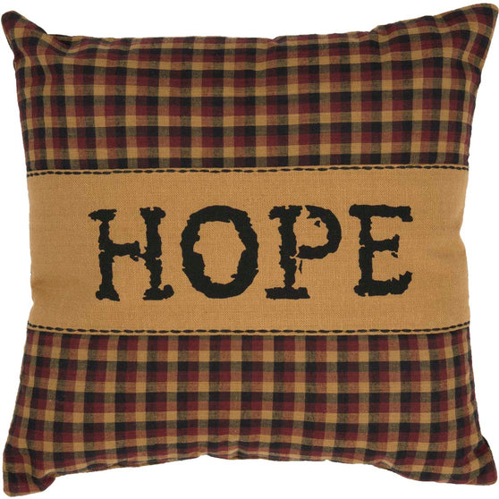 Heritage Farms Hope Pillow 12x12